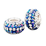 Andante-Stones 925 Sterling Silber Kristall Bead...